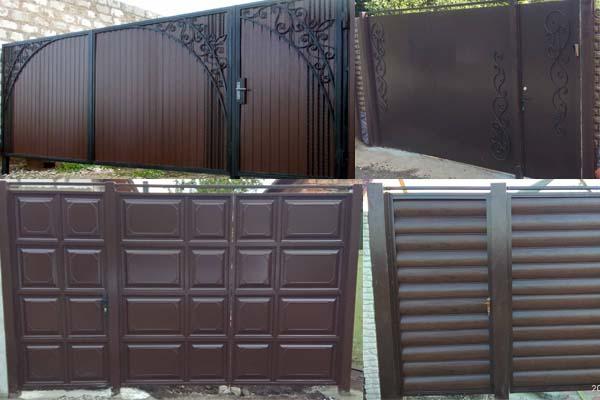 Каталог ворот, калиток в Харькове от компании Престиж Забор
